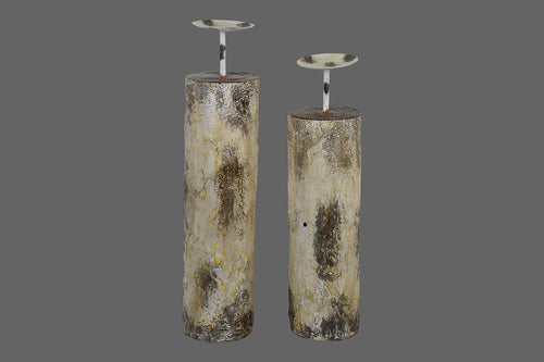 Stone Candle Stands