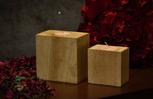 Airy Wooden Candles