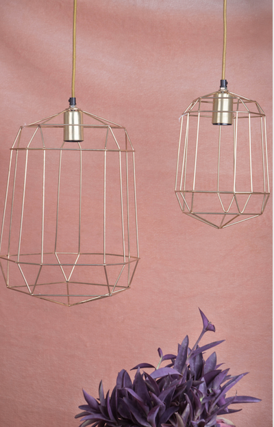 A modern & quirky lighting accessory made of 100% aluminium, is inspired by today's modern design.
