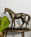 Here's presenting a stand alone statement showpiece, made of 100% brass, carved stunningly.A antique bronze finish.