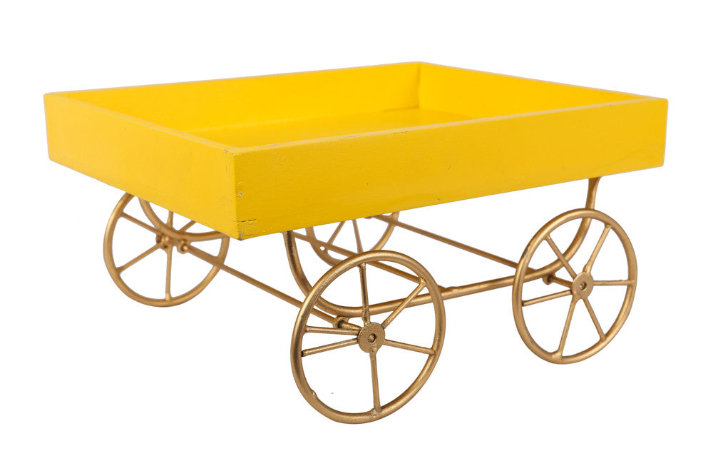 Great for parties, cart trays are hands on for both decorative and serving purpose!!