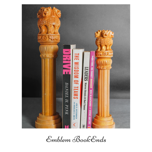 Emblem Bookends / Decorative's