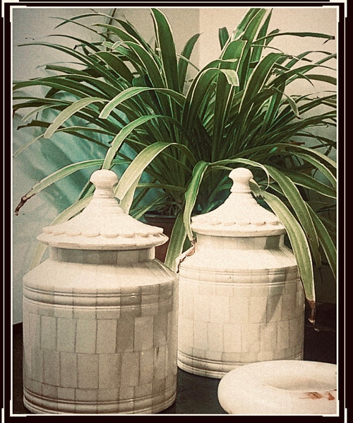 Ornate Decorative Jars