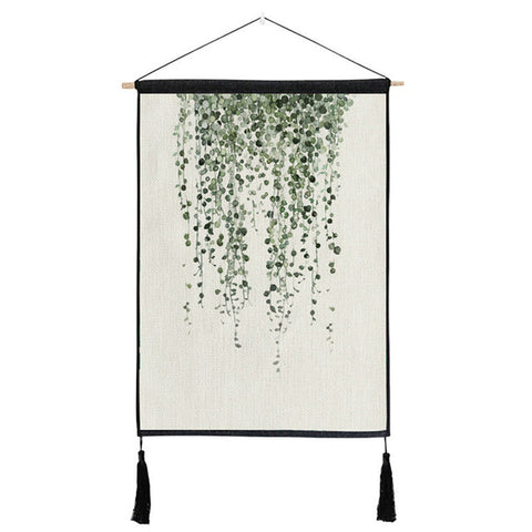Green Leaf Wall Decoration