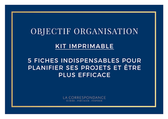 Kit Organisation Offert - The Plannerist
