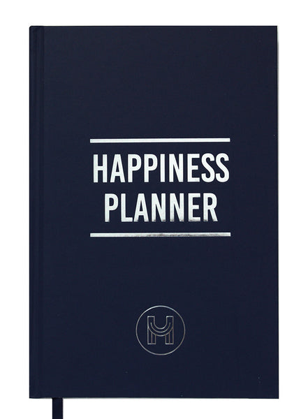 The Plannerist - Agenda Happiness Planner 100 Jours Bleu Marine