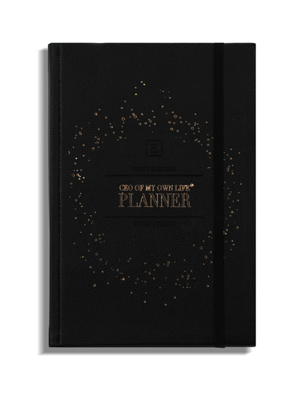 The Plannerist - Planner Agenda Semaine non daté Ceo of my life