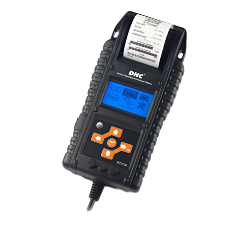 Automotive Car Digital Battery Charging & Electrical System Tester with Printer. DHC BT2100 - Oricol Imports