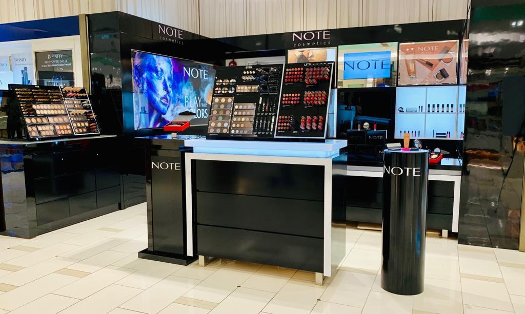 Note Cosmetics Malaysia The Gardens Mall Midvalley KL