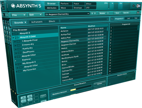 Soundware Absynth 5