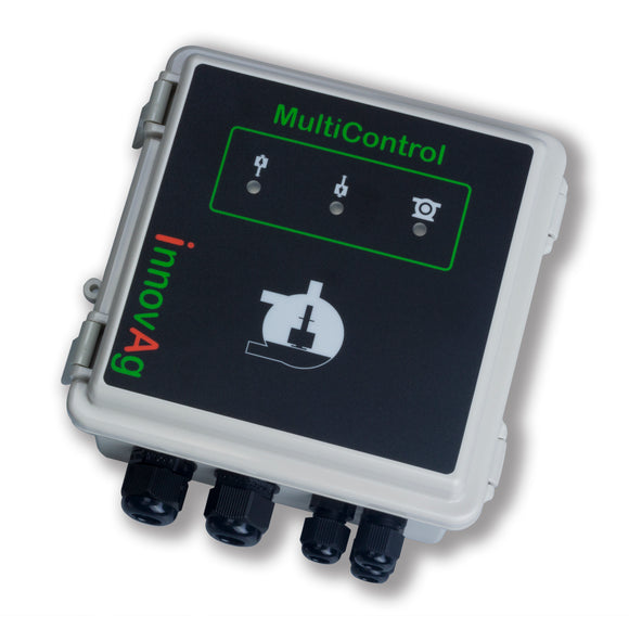 innovAg's Multicontrol Milk Pump Controller (front view)