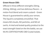Green House CBD 500mg
