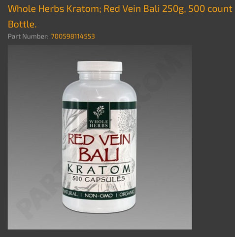 Whole foods kratom