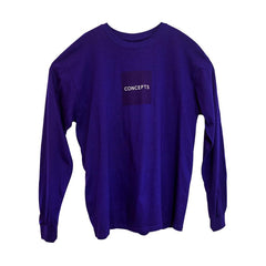 CONCEPTS LUX SQUARE LONSLEEVE T