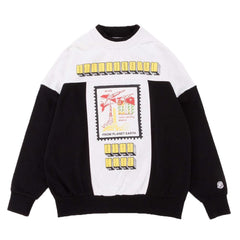 FROM PLANET EARTH CREWNECK - BLACK