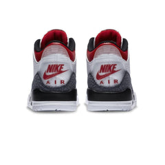 Air Jordan 3 Retro SE (GS) (White/Fire Red-Black)