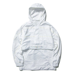 Concepts x Lacoste 3M Windbreaker (White)