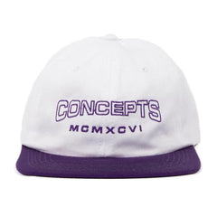CONCEPTS NUMERALS 6 PANEL HAT