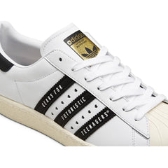 SUPERSTAR 80S HUMAN MADE (WHITE/BLACK/OFF WHITE)