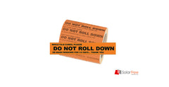 DO NOT ROLL DOWN STICKERS