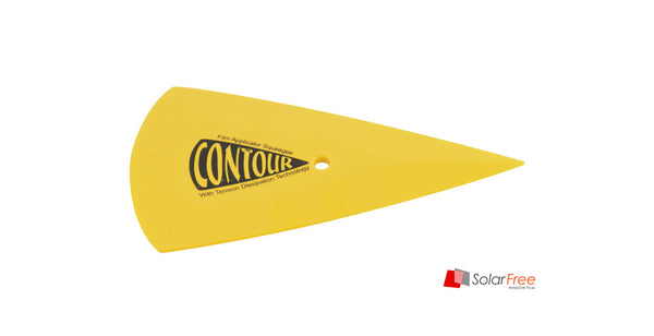 YELLOW CONTOUR SQUEEGEE