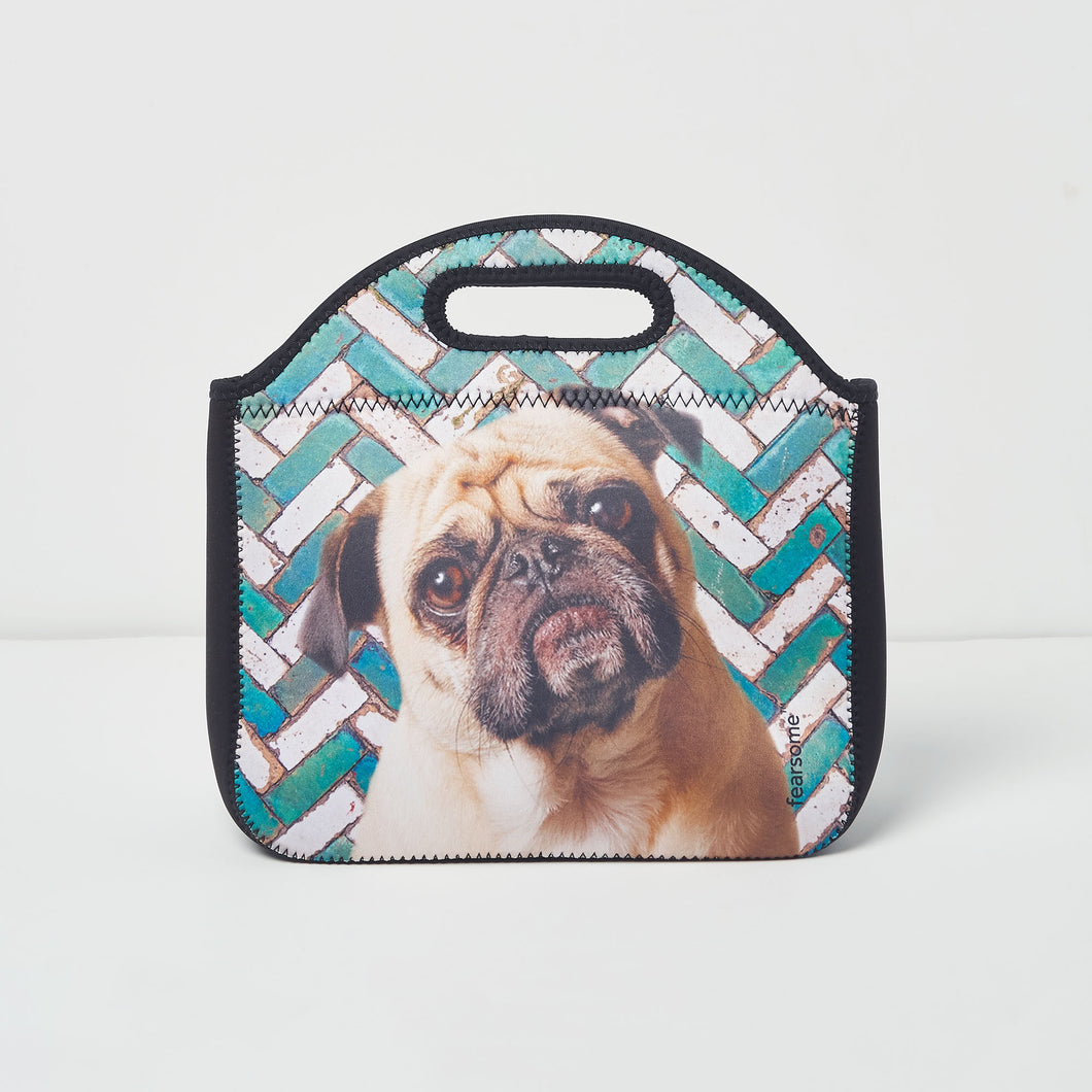 Into The Wild Lunch Bag - Pug