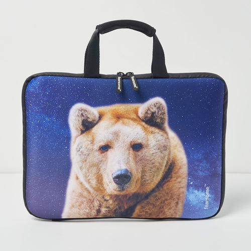 Jungle Laptop Bag - Grizzly