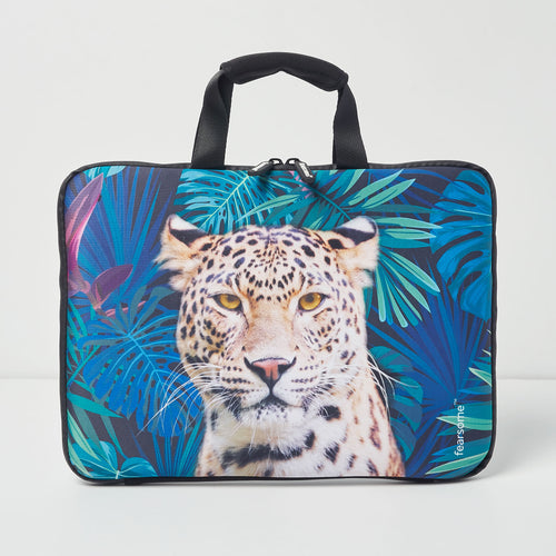 Jungle Laptop Bag - Jungle Leopard