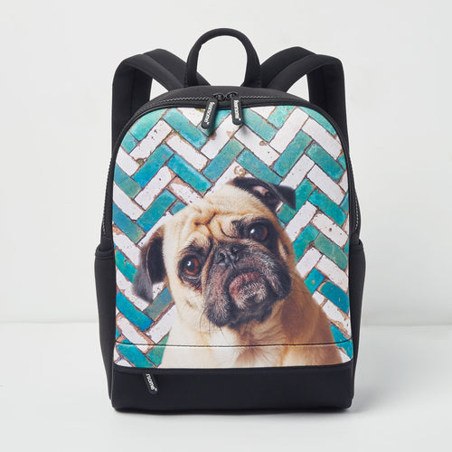 Wilderness Backpack - Mosaic Pug