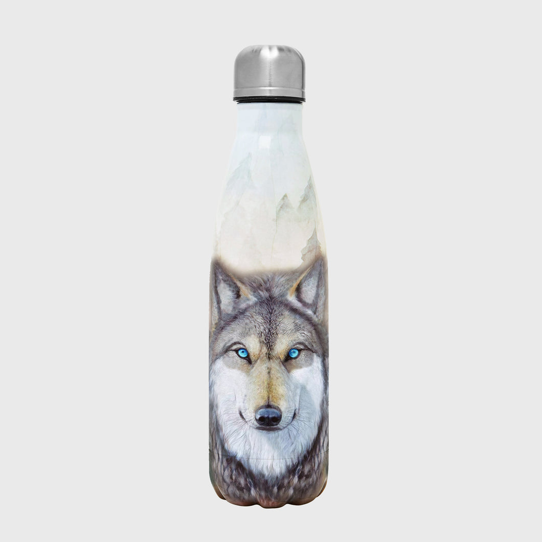 Into The Wild Bottle - Wolf