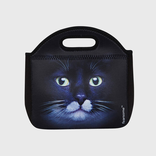 Into The Wild Lunch Bag - Black Cat
