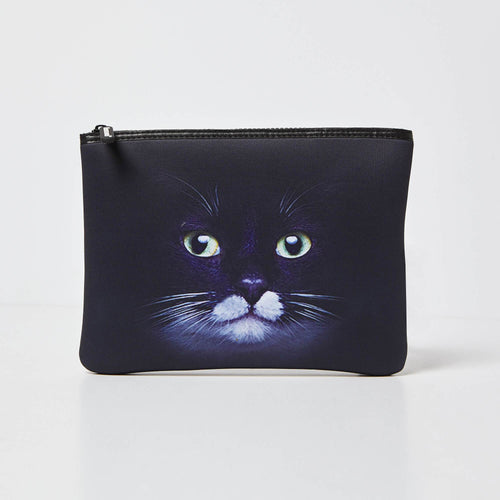 Into The Wild Pouch - Black Cat