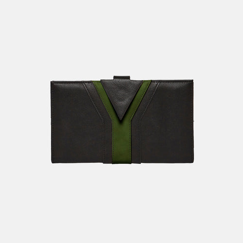 All Day Love Wallet - Black/Green