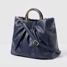 Almost Mine Vegan Tote - Navy