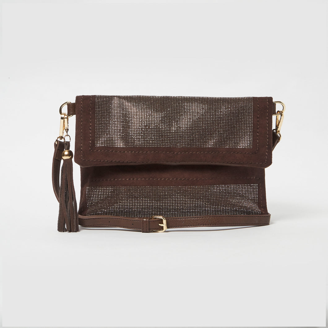 Beloved Clutch by Urban Originals - Chocolate