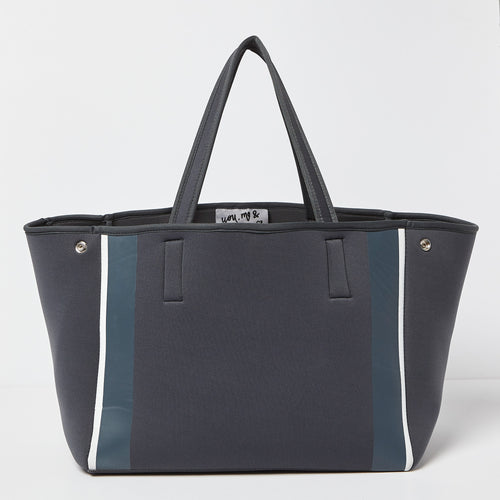 Byron Bag - Grey/Blue