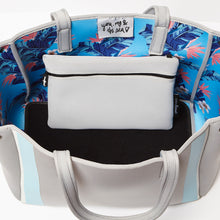 Floral Byron Bag - Blue