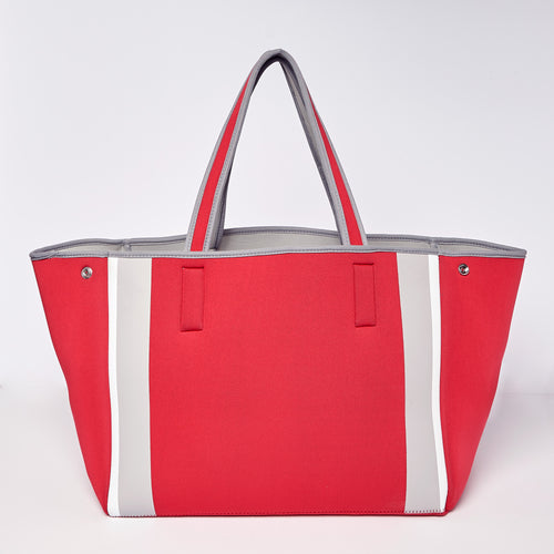 Byron Bag - Red/Grey