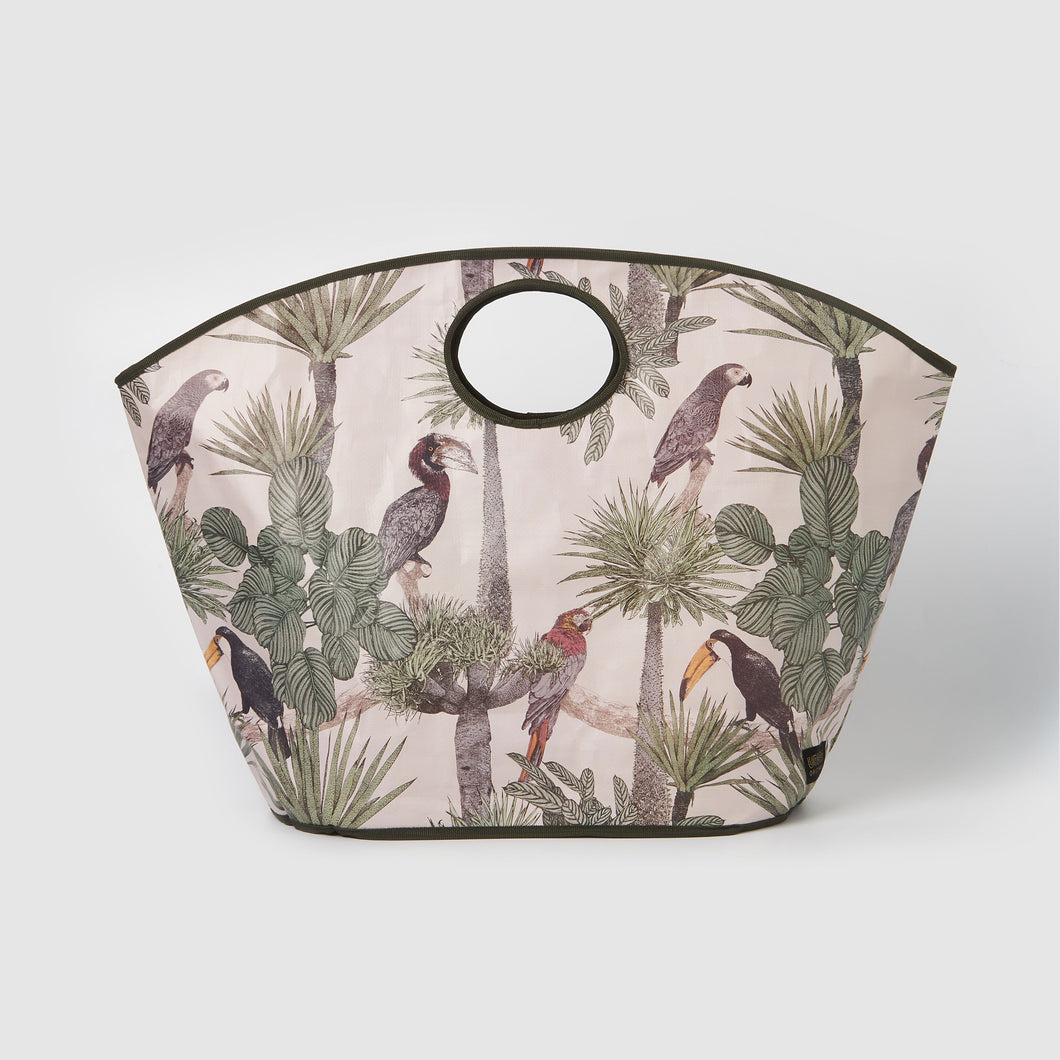 Carry All Bag - Tropical Birds