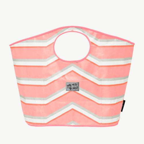 Carry All Bag Stripe - Pink - Urban Originals Australia