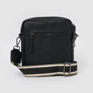 Catch Me Unisex Crossbody by Urban Originals - Black