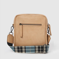 Catch Me Unisex Crossbody by Urban Originals - Taupe