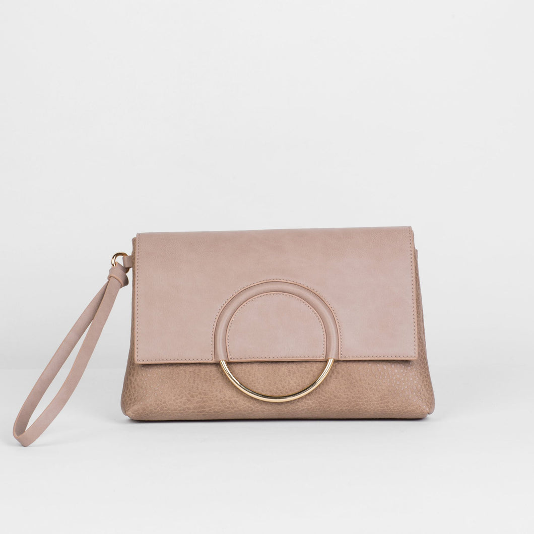 Custom Clutch - Taupe