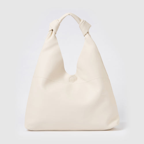 Double Knot Hobo - Cream