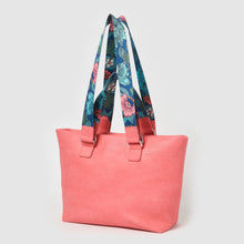 Dragonfly Floral Tote by Urban Originals - Pink