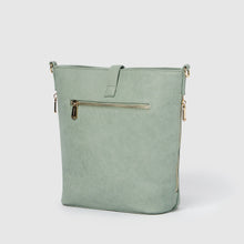 Earthling Crossbody Vegan Leather Bag - Green