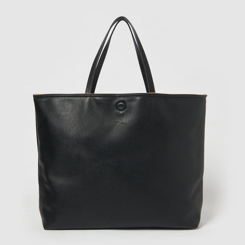 Flipside Tote by Urban Originals - Black/Tan