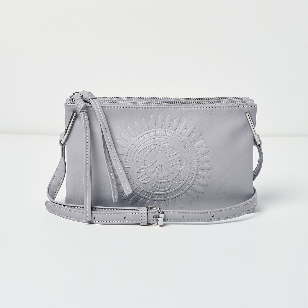 Flower Crossbody - Grey - Urban Originals Australia