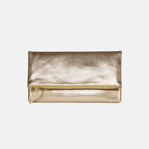 Glitter Girl Clutch - Gold