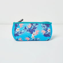 Goddess Beauty Bag - Floral/Blue - Urban Originals Australia